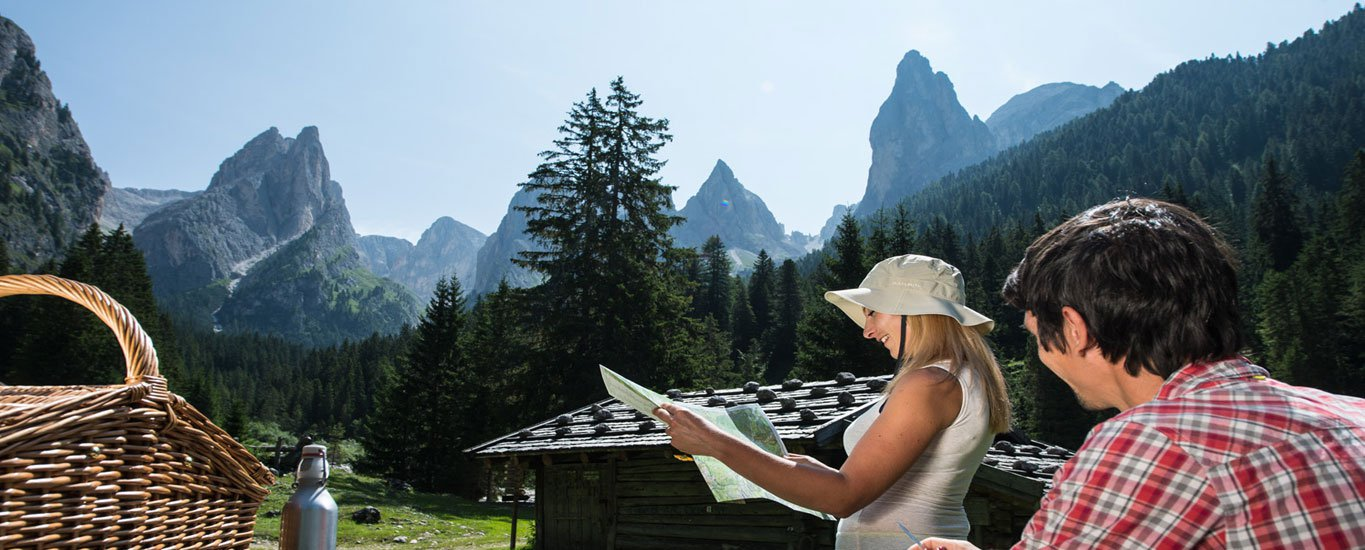 The holiday region Alpe di Siusi has plenty to offer – in the summer and in the winter