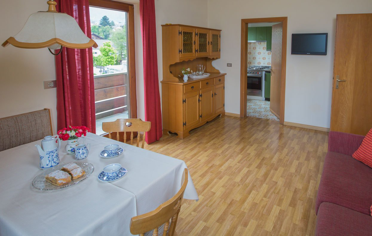 Accommodations Fiè allo Sciliar – The Apartments Vikoler offer many comforts