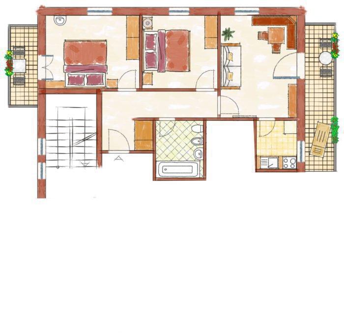 Wohnung 3 Grundriss