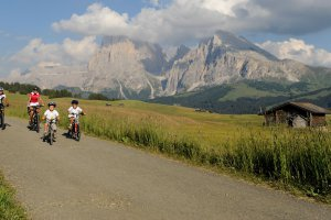 Mountain bike sull'Alpe di Siusi 03