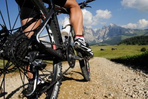 Mountain bike sull'Alpe di Siusi 04