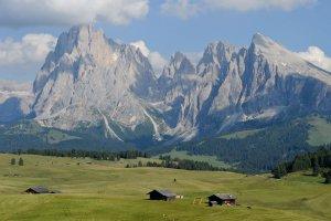 Mountain biking on the Alpe di Siusi 06